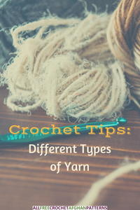 Crochet Tips: Different Types of Yarn