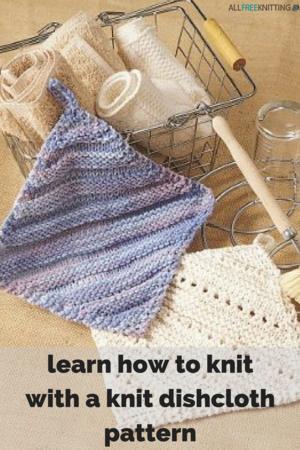 How To Design Knitting Patterns : 31 Kitchen Knitting Patterns: Free Knit Dishcloth Patterns and More AllFree...