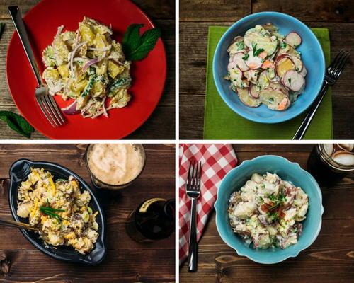 4 Easy Recipes for Potato Salad