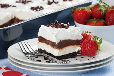Chocolate Dessert Lasagna