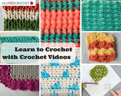 85 Learn To Crochet Videos Allfreecrochetcom