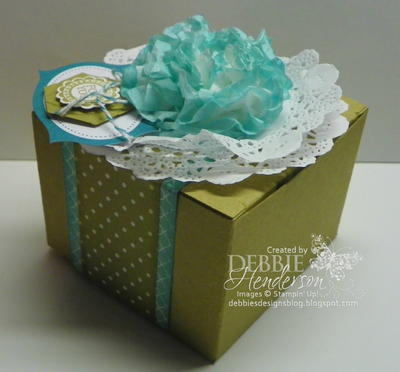 Creped Filter Paper Gift Topper