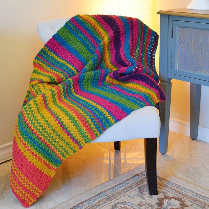Must Make Crochet Temperature Afghan