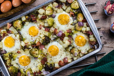 All-in-One Sheet Pan Eggs