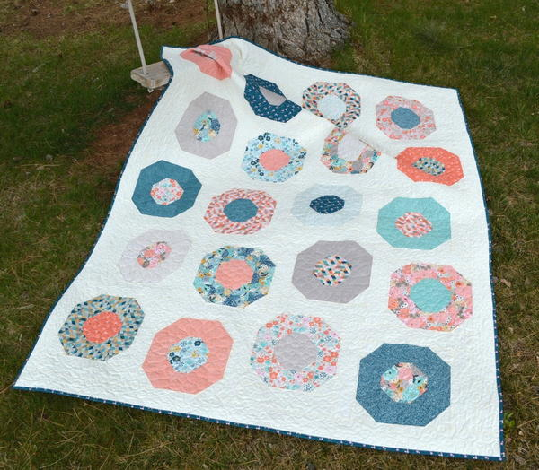 Poppies Quilt Tutorial
