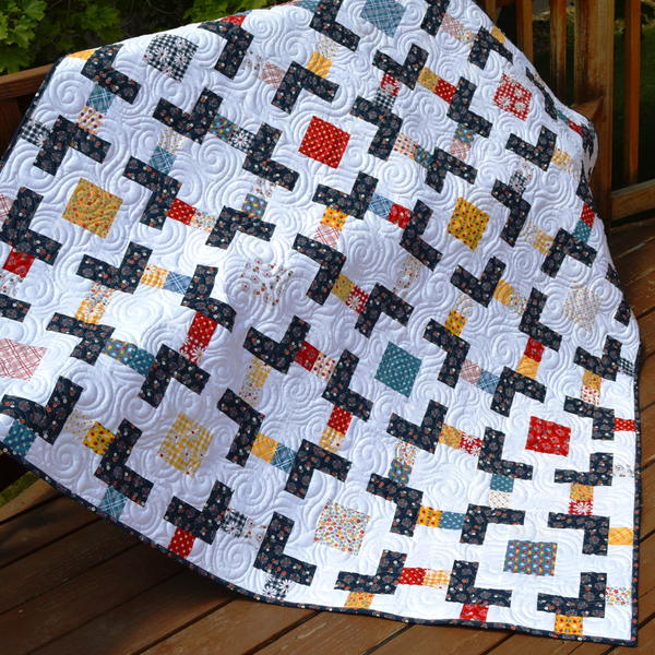 Crossroads Lap Quilt Tutorial