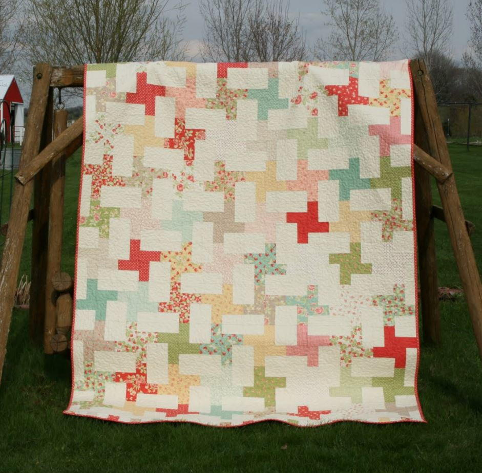 Twists And Cartwheels Quilt Favequilts Com