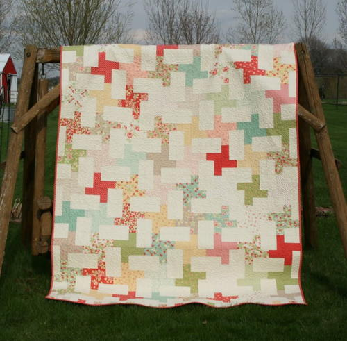 Twists and Cartwheels Quilt