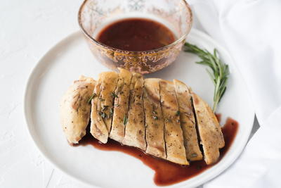 Easy Red Wine Reduction Sauce