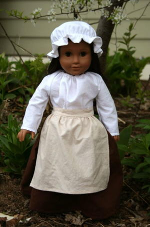 American Girl Inspired Colonial Doll Outfit