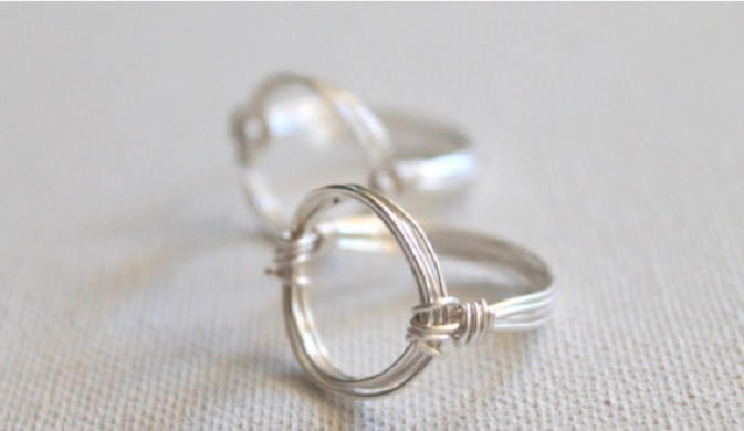 Wire Wrapped Circle Ring Tutorial Allfreejewelrymaking Com
