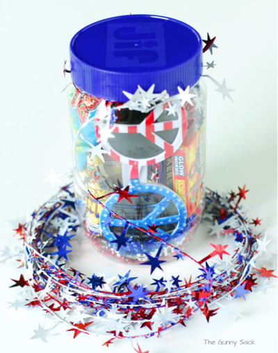 Fourth of July Gift Jar