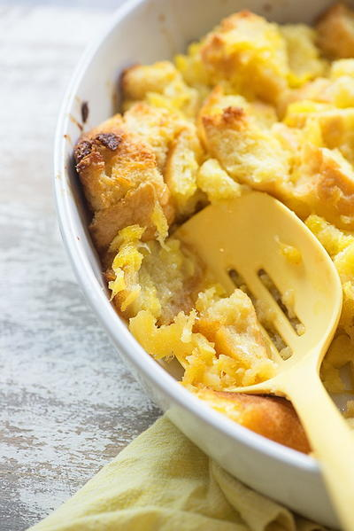 Sweet and Salty Pineapple Casserole