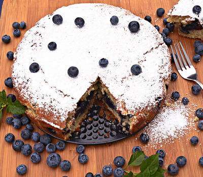 Blueberry Cinnamon Coffee Cake