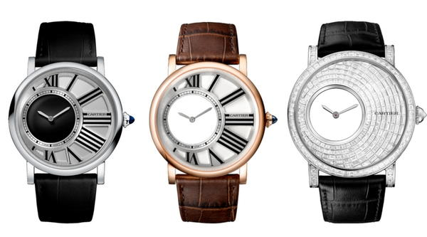 Cartier Rotonde De Cartier Mysterious Hour - Mystery Watch