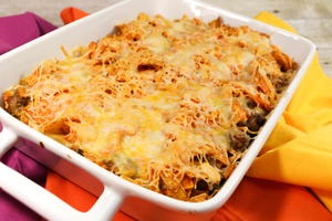 Doritos Casserole with Ground Beef