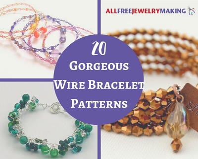 20 Gorgeous Wire Bracelet Patterns