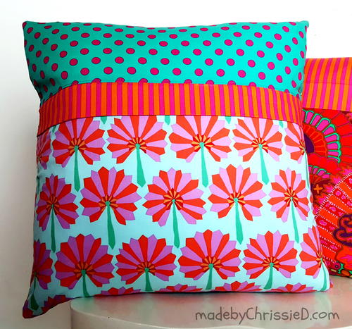 Pillow Cushion Hidden Zipper Tutorial