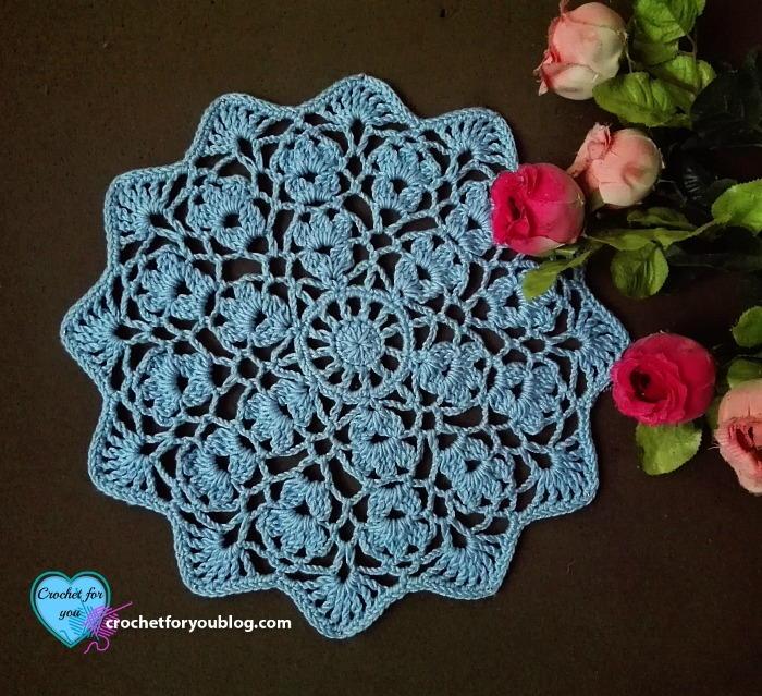 Flower Wheel Doily Favecrafts Com