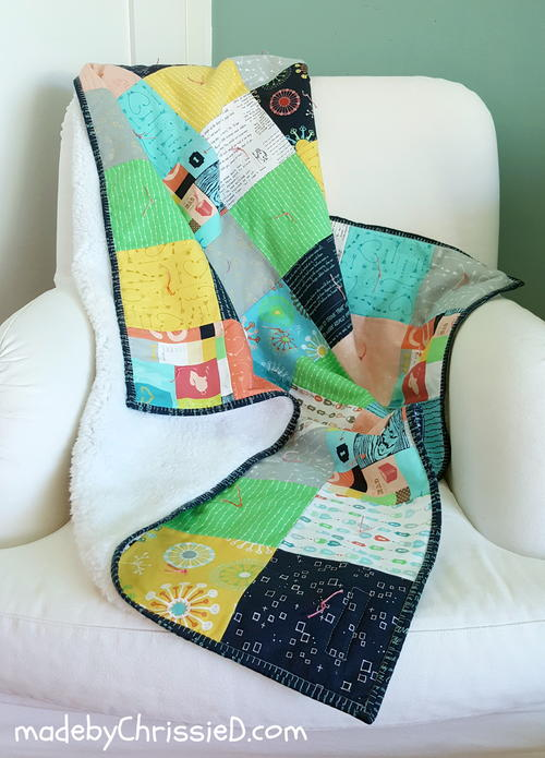 "35"" Hand Tied Snuggly Quilt Pattern"