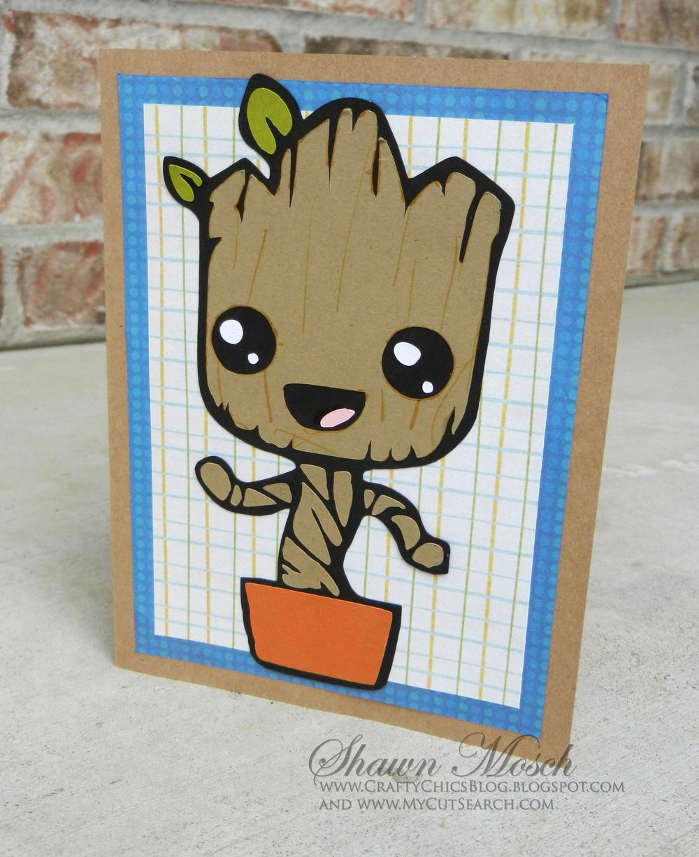 I Am Groot Birthday Card Favecrafts Com