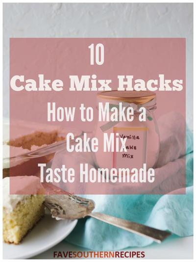 Homemade Vanilla Cake Mix Recipe Favesouthernrecipes Com
