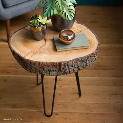 Very Easy Wood Slice DIY Table