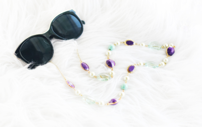 Im-Posh-ibly Practical DIY Sunglass Chain