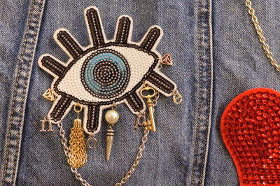 DIY Trendy Sequin Patch Brooch