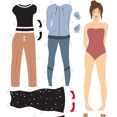 Printable Paper Doll