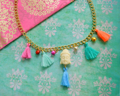Bohemian Chic Tassel Necklace