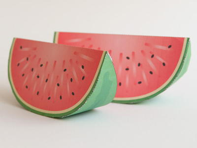 Printable Paper Watermelon