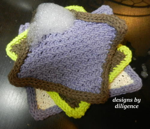 Learner's Curve Dishcloth
