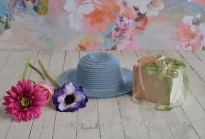 How To Make A Floral Bonnet