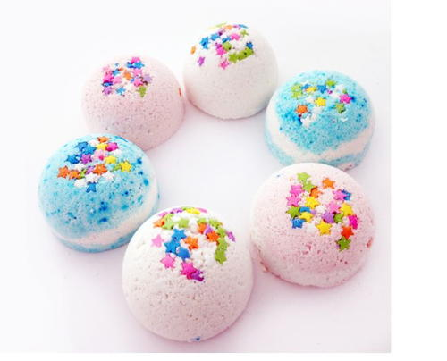 Birthday Cake DIY Bath Bomb