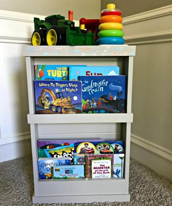 Hidden DIY Toy Storage
