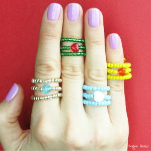 Make 2 Easy DIY Rings for Mother's Day