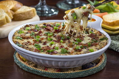 Caramelized Onion and Bacon Dip