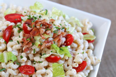 Stress-Free Bacon Macaroni Salad