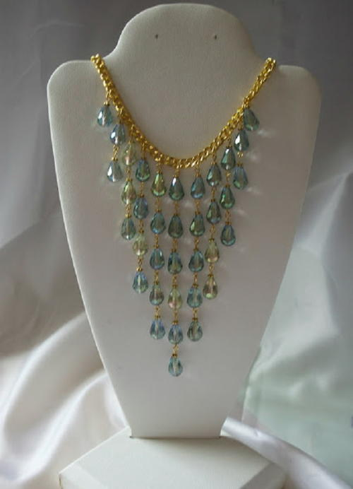 Mermaid Cascade Necklace