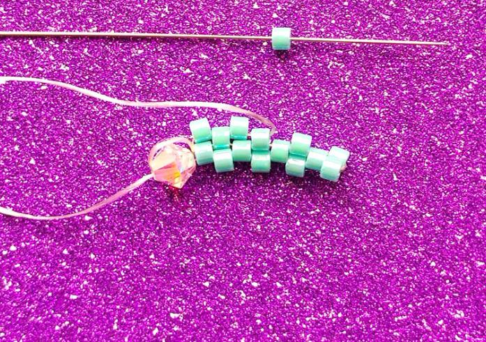 how to peyote stitch allfreejewelrymakingcom