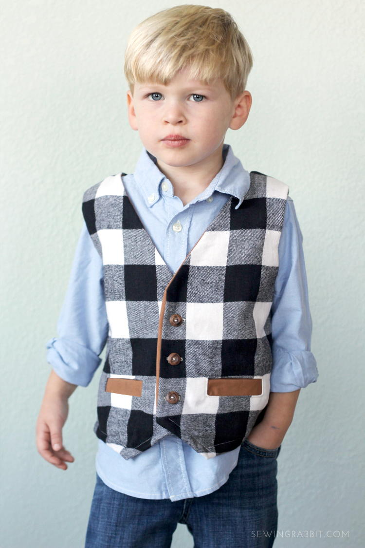 Prep School Boys Vest Pattern Allfreesewing Com