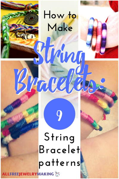 How to make bracelets with string patterns