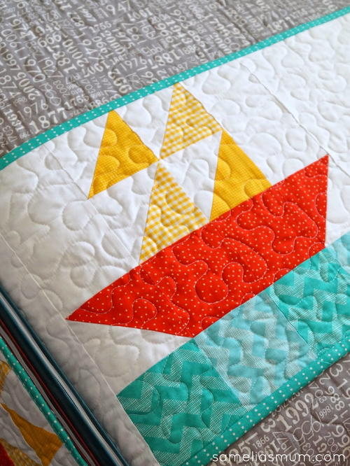 Nautical Quilt Block Pattern