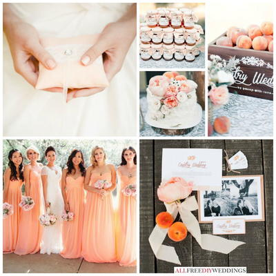 Spring Wedding Colors: Peach