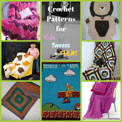 12 Crochet Patterns for Kids Tweens and Teens