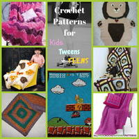 12 Crochet Patterns for Kids, Tweens, and Teens