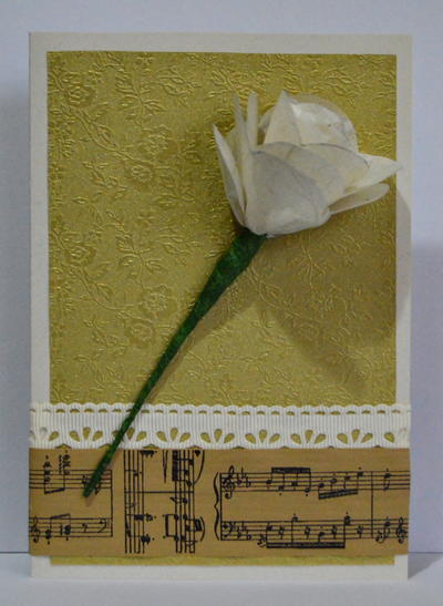 Romantic Diy Paper Rose Wedding Favor Allfreepapercrafts Com