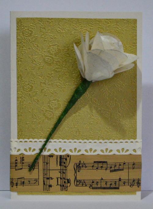 Allfreepapercrafts Com: Romantic DIY Paper Rose Wedding Favor