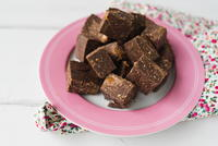 Chocolate Kisses Fudge